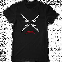 """Мужская футболка с принтом """"Металлика"""""""