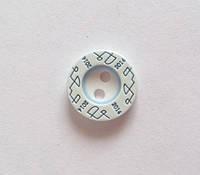 Пуговица пришивная модель 9 - цвет 185, размер 18