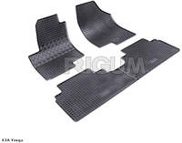Автоковрики в салон RIGUM KIA Venga (КИА Венга) 09> /  Hyundai ix20 (Хюндай ix20) 10> black 4 шт , компл