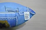 Подушка 70х70 поликоттон, холлофайбер, фото 3