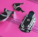 """Профессиональный алюминиевый кейс для косметики """"Exclusive Series"""", малиновый, фото 6"""
