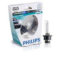 Ксенон D2S Philips Xtreme Vision 85122XVS1 85V 35W P32d-2 -  НА 50% УВЕЛИЧЕН ПОТОК СВЕТА