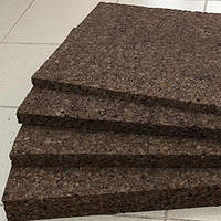 Листовой агломерат,черный (экологичный утеплитель, шумоизолятор из коры пробкового дуба) 1000*500 мм
