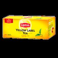 Чай черный Липтон Yellow Label 25 пакетиков