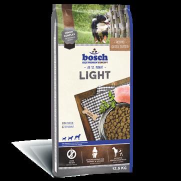 Bosch LIGHT 12.5 кг - корм для собак, склонных к полноте и собак с избыточным весом