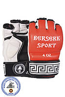 Перчатки BERSERK SPORT TRADITIONAL for Pankration approved WPC NEW 4 oz red, фото 1