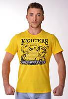 Футболка Ukraine Fighter yellow