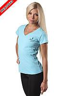 Футболка CLASSIC woman turquoise, фото 1