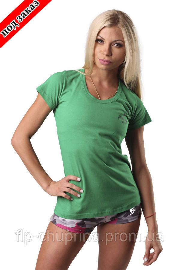Футболка CLASSIC woman green