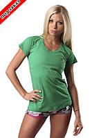 Футболка CLASSIC woman green, фото 1