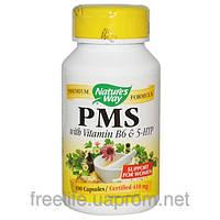 Комплекс для облегчения симптомов ПМС, с витамином B6 и 5-HTP, 418 мг, PMS, With Vitamin B6 & 5-HTP