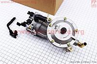 Газовый карбюратор LPG (пропан-бутан)  для генераторов 1,6-3кВт (механизм рычажный)
