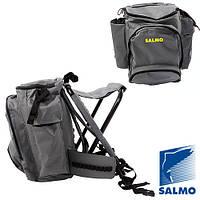 Стул-рюкзак Salmo BACK PACK с поясным фиксирующим ремнем (45л)