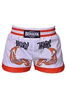 Шорты Muay Thai Fighter white, фото 1