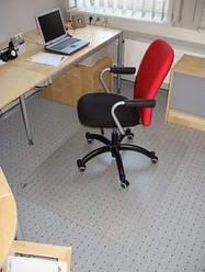 Захисний килимок під крісло 125см х 200см (0.8 мм)