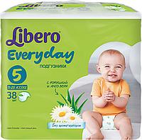 Подгузник Либеро Everyday Extra Large 5  (11-25 кг) (38)