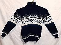 """Детский вязаный свитер """"Мерена"""" для мальчика"""