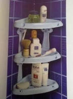 Полочка для ванной Solner 3-х ярусная