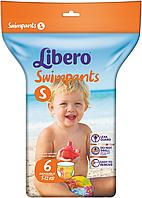 Трусики для плавания Libero SWIMPANTS small (7-12 кг) 6 шт.