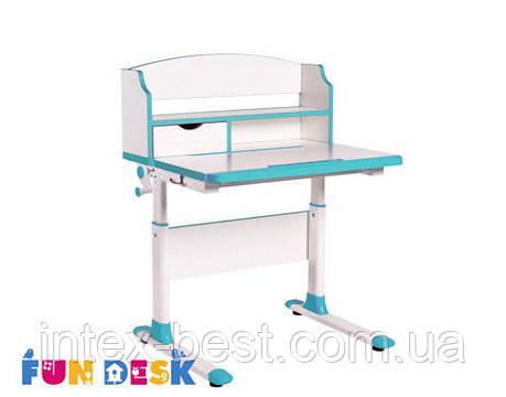 Детский стол-трансформер FunDesk Pensare Blue, фото 2