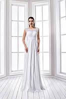 Невероятно утонченное свадебное платье в греческом стиле