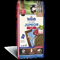 Bosch (Бош) JUNIOR Lamb & Rice 3кг - корм для щенков с чувствительным пищеварением (ягненок/рис)