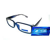 Компьютерные очки Popular 344. Чехол и салфетка.