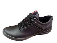 Мужские кожаные туфли Columbia