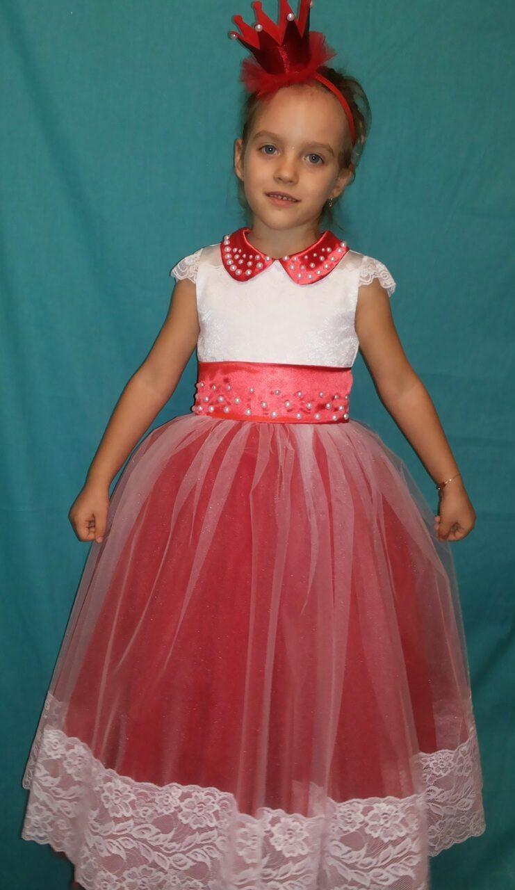 Купить детское платье с кружевом