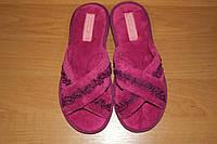 Женские домашние тапочки Белста с открытым носком, махра р-р 36, 39, 41