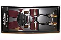 Подтяжки кожаные 'Topgal EXCLUSIVE' марсала №2