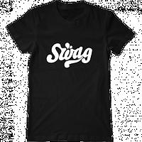 """Мужская футболка с принтом """"Swag"""""""