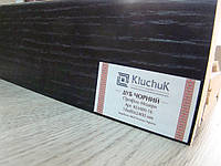 Плинтус деревянный (шпон) Kluchuk Модерн Дуб Черный 80х18х2400 мм.