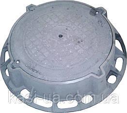 Люк канализационный тяжелый магистральный тип ТМ (D400) H180