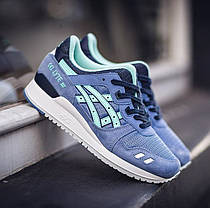 pretty nice 8d26d b021c Женские кроссовки Asics Gel Lyte III Stone Wash Light Mint H62RQ-4876