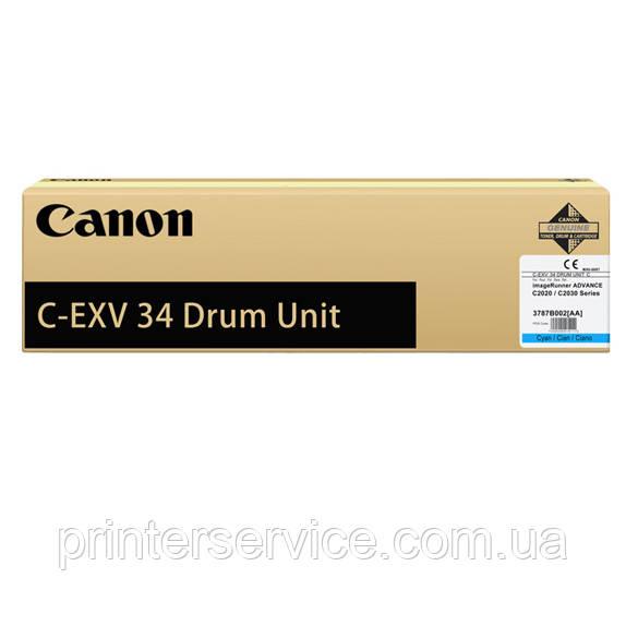 Фотобарабан Canon C-EXV34 Cyan для IRAC2020/2030 series
