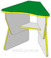 Стол детский Лепесток от производителя регулируемый по высоте с полкой, фото 1