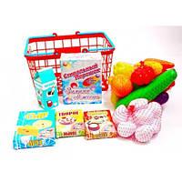 """Детская корзина с продуктами """"Супермаркет"""" 379 В-5"""