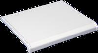 Подоконник Danke Lucido Bianco - белый глянец 400 мм