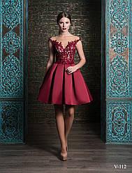 Вечернее, выпускное платье V-112