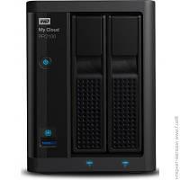 Сервер NAS Western Digital My Cloud Pro Series PR2100 (WDBBCL0000NBK-EESN)
