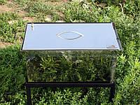 Коптильни горячего копчения с гидрозатвором из нержавеющей стали (520x300x280)
