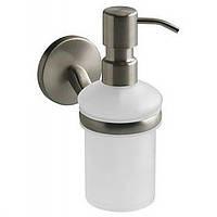 Дозатор для жидкого мыла с держателем Bisk Virginia 72089