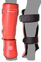 Защита голеностопа усиленная (винил) red