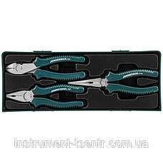 Набор шарнирно-губцевого инструмента JONNESWAY P0803SP 3 пр.