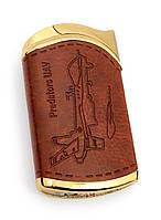 Зажигалка газовая турбо (6,5х4х1,5 см)