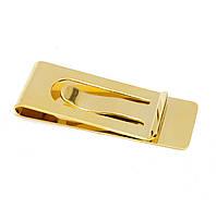 """Зажим для денег """"золото"""" (5,5х2 см)"""