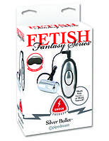 Женская пуля для электростимуляции - Fetish Fantasy Series Shock Therapy Silver Bullet