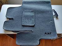 Автомобилные коврики в салон Fiat Ducato от 2006, темно-серые, сплошной