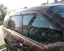 Вітровики вікон Хонда Пілот 2 (дефлектори бокових вікон Honda Pilot 2)